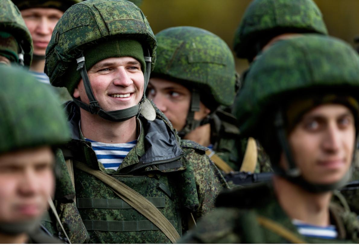 Россию включили в число стран с сильнейшей армией