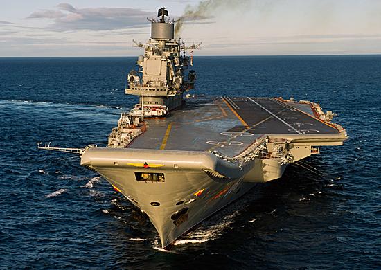 Контракт на ремонт «Адмирала Кузнецова» заключат в апреле
