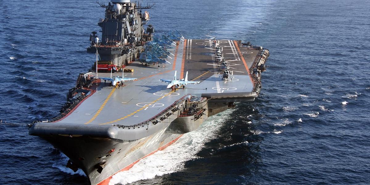 Авианосец «Адмирал Кузнецов» ждет перевооружение