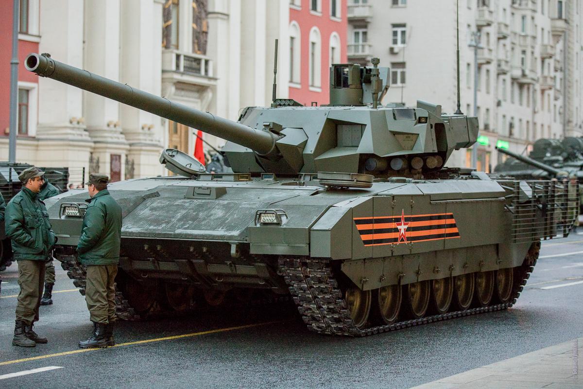 На параде Победы в Москве покажут новейшую военную технику