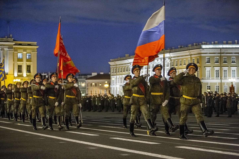 В Петербурге отрепетировали парад Победы