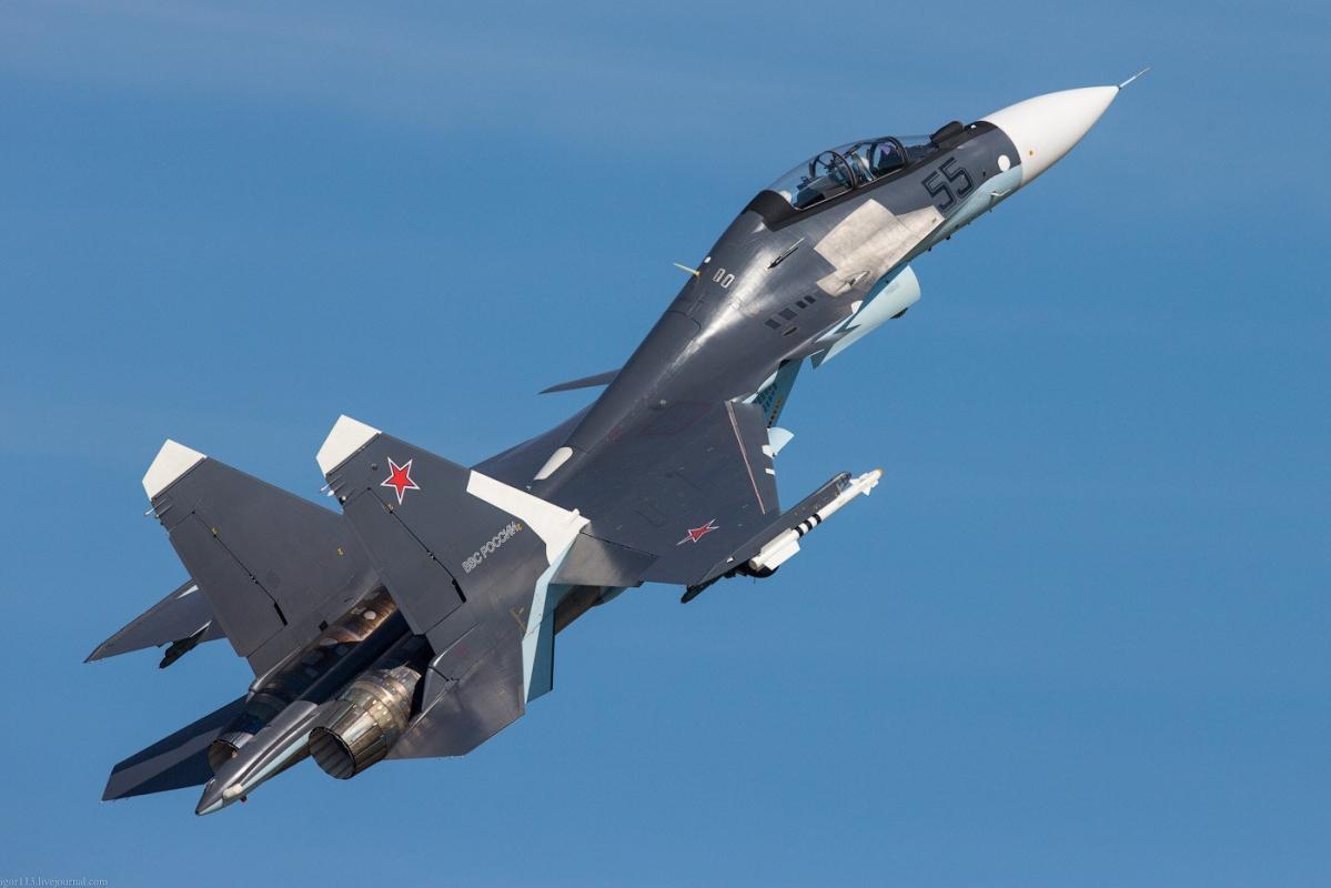 В Сирии разбился российский истребитель Су-30