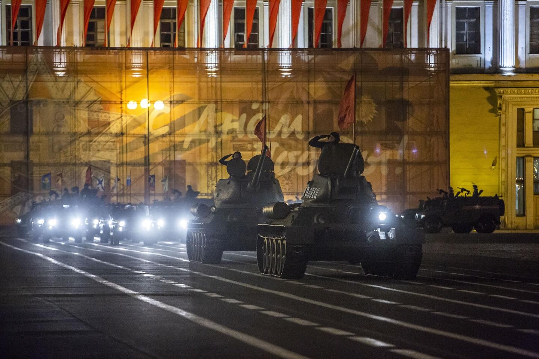 Места проведения парада Победы в российских городах