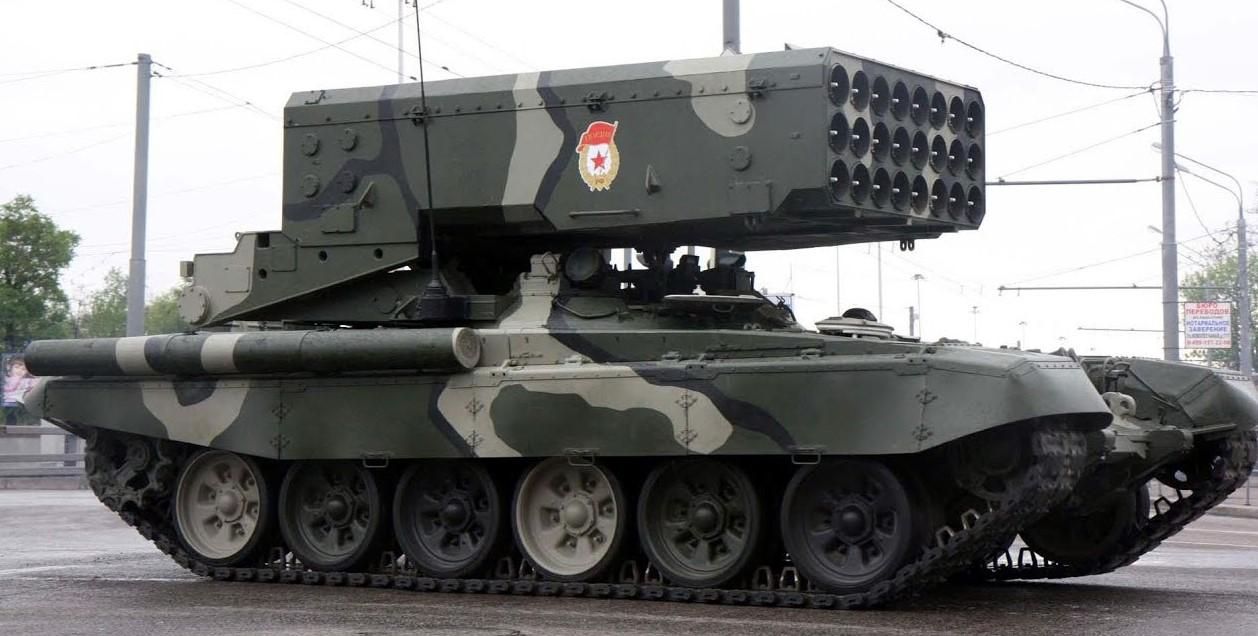 Войска ЦВО получат шесть огнеметных систем «Солнцепек»