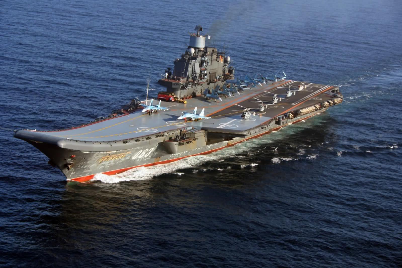 Модернизация «Адмирала Кузнецова» потребует 60 млрд рублей