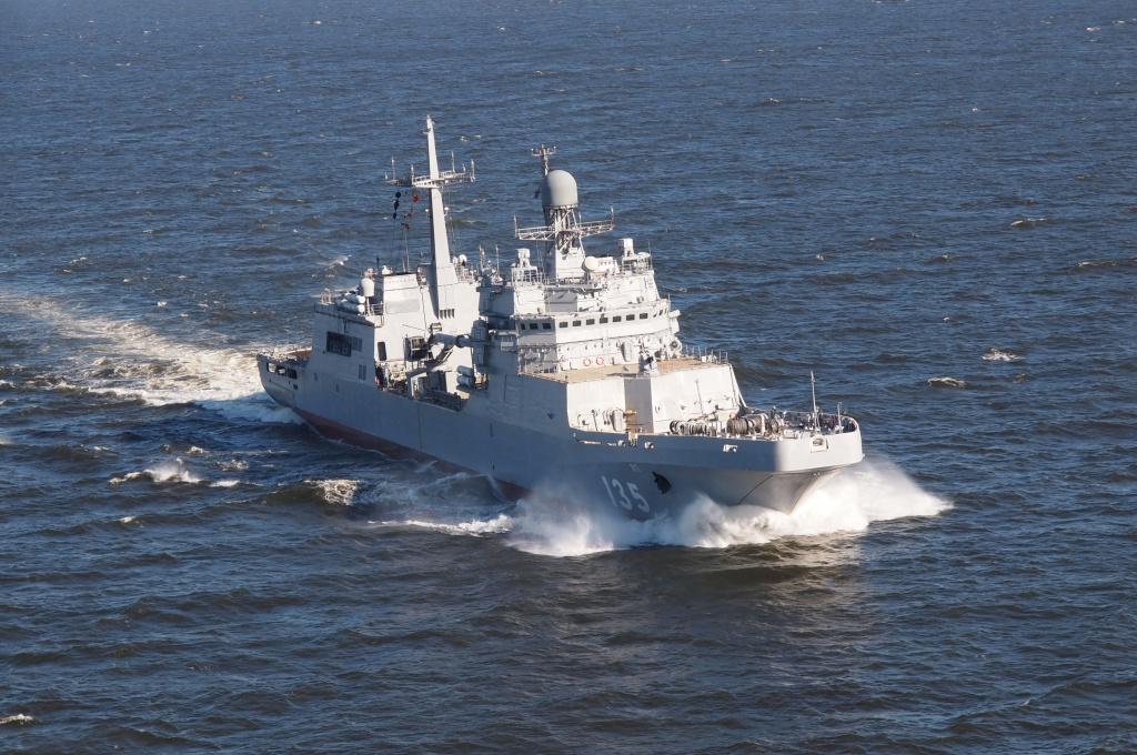Десантный корабль «Иван Грен» успешно прошел испытания