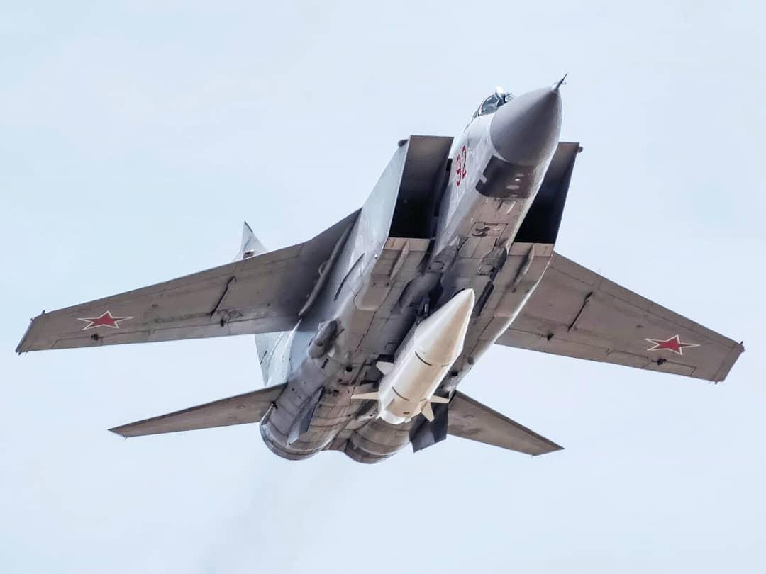 На боевое дежурство  встали десять Миг-31 с ракетами «Кинжал»