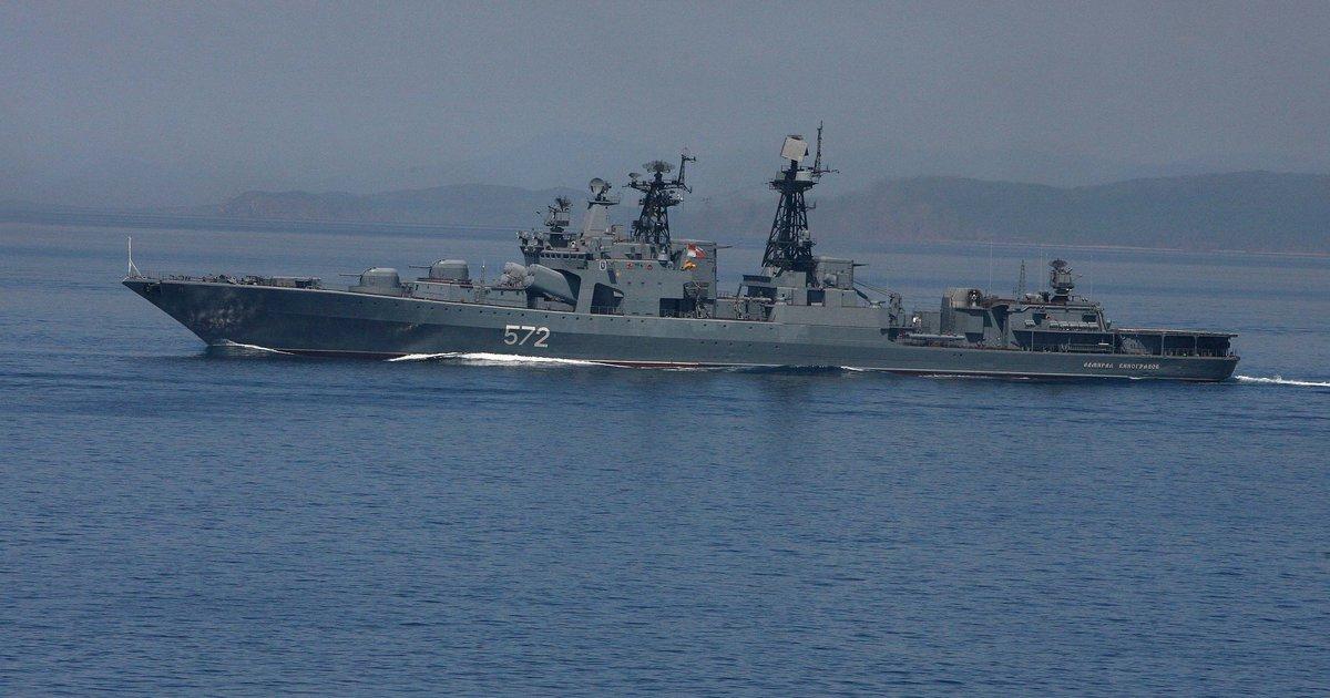 Корабли ТОФ отправляются в поход
