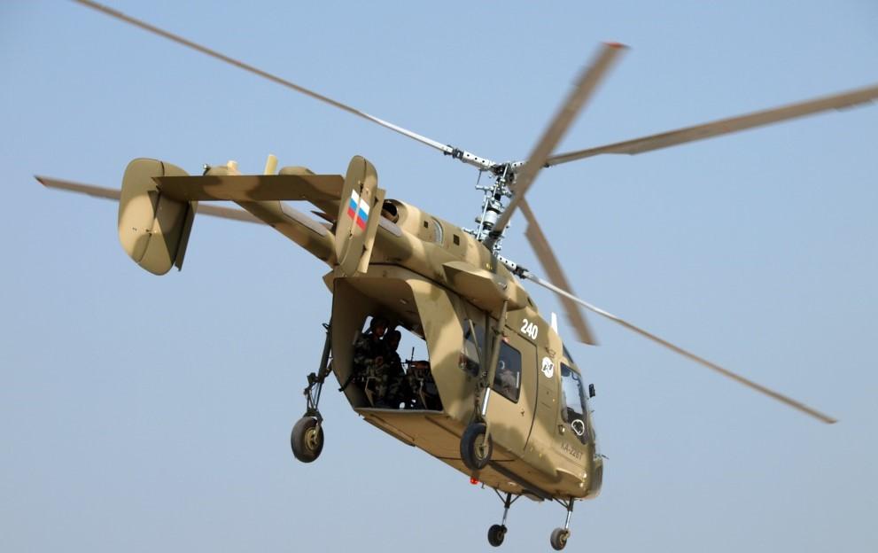 Индия запросила у России 200 вертолетов Ка-226Т