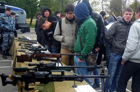 В Марий Эл допризывников научат метко стрелять