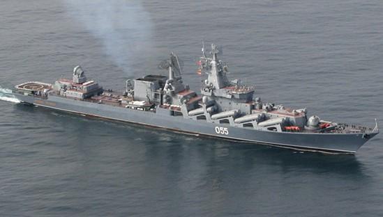 «Маршал Устинов» провел ракетные стрельбы в Баренцевом море