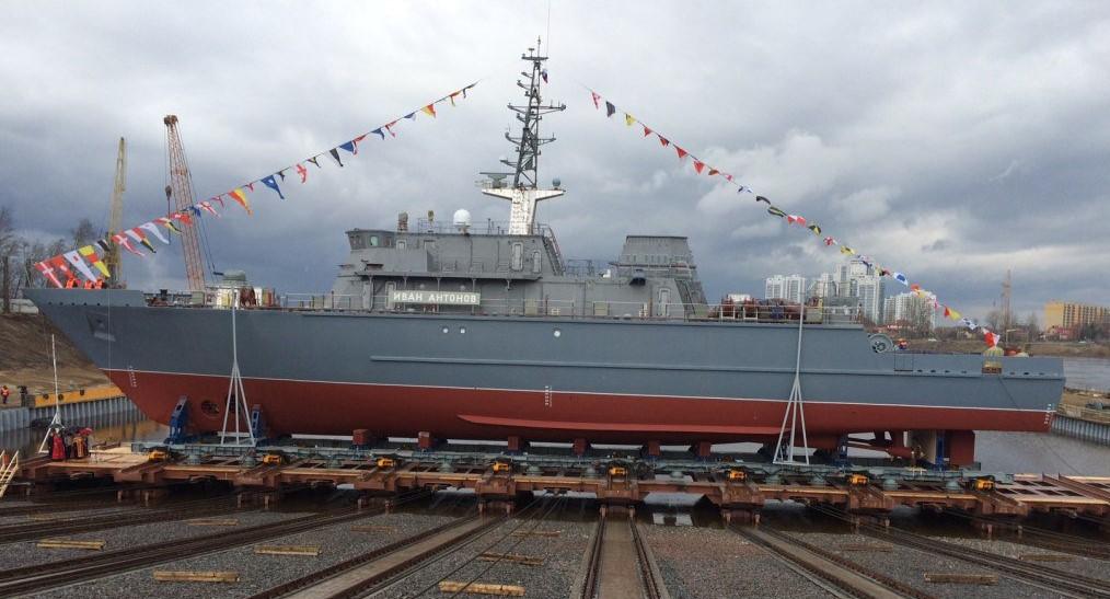 Осенью на Черноморский флот прибудет новейший тральщик