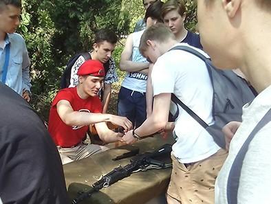 Саратовские школьники испытали себя на прочность