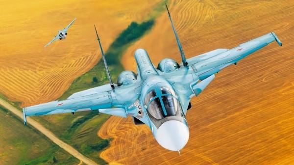 Истребители ВКС перехватили восемь воздушных разведчиков
