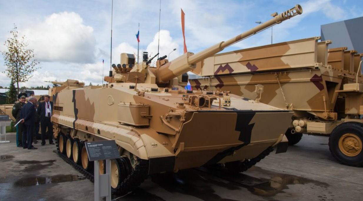 «Уралвагонзавод» опубликовал видео испытаний боевого модуля АУ-220М