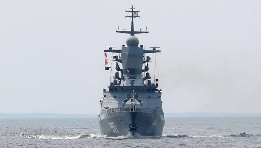 В Японском море провели стрельбы корабли Тихоокеанского флота