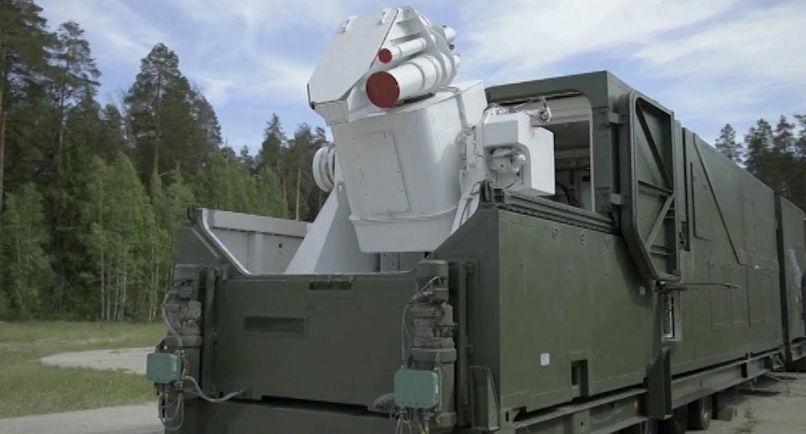 В России создан фургон для боевого лазера «Пересвет»