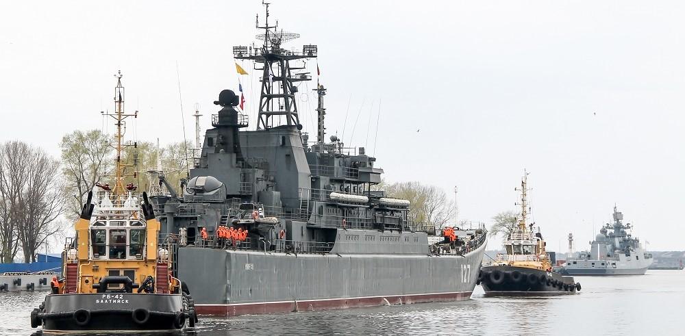 Из дальнего морского похода вернулся БДК «Минск»