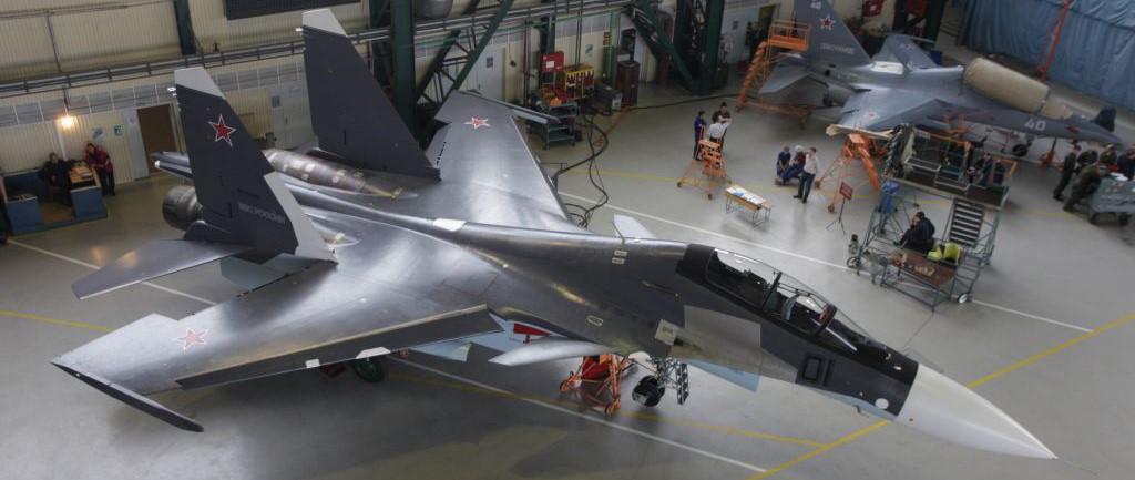 Морская авиация Балтфлота получит два Су-30СМ