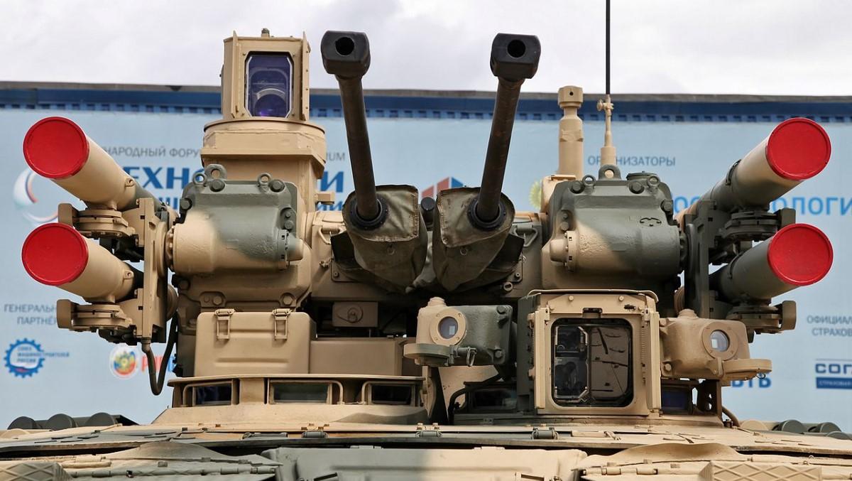 «Терминатор» получит боеприпасы дистанционного подрыва