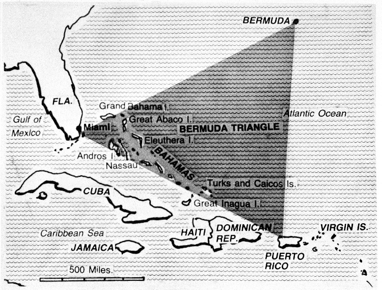 Ученые утверждают, что раскрыли тайну Бермудского треугольника