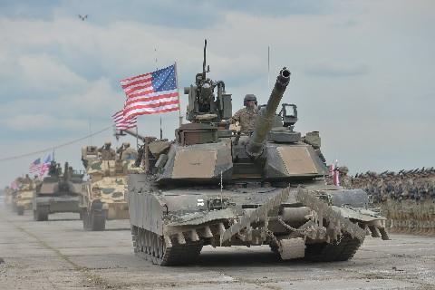 Американские танки спрячутся за «Железным занавесом»