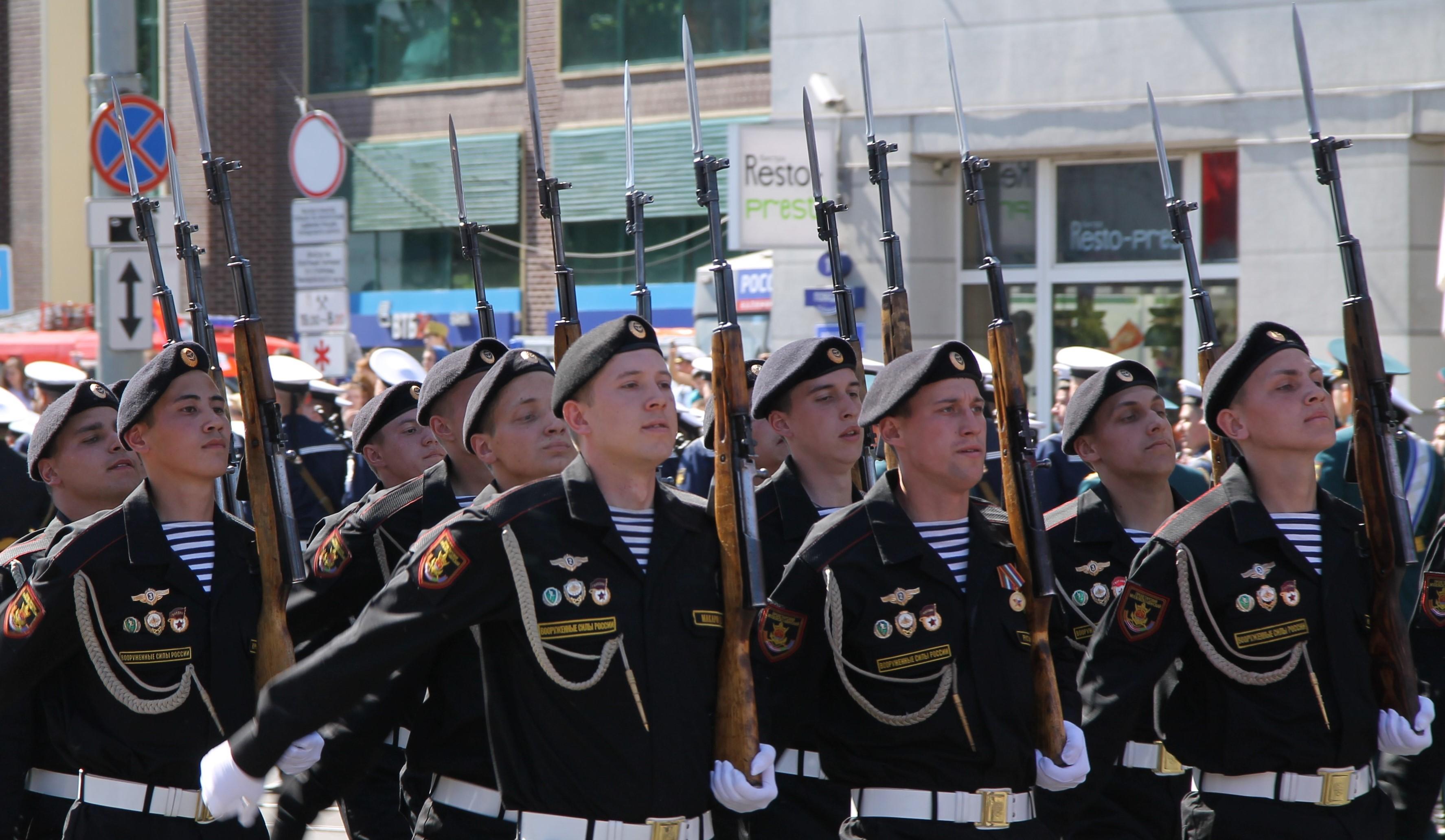 Парад Победы в Калининграде