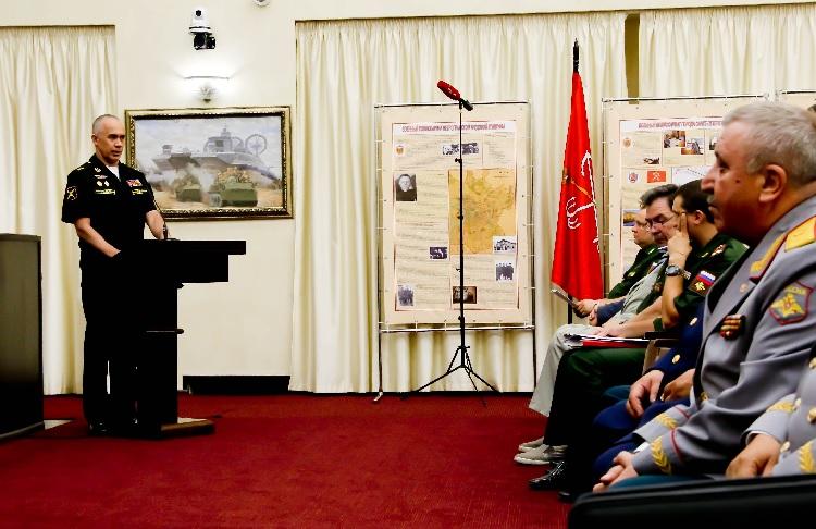В Генштабе состоялось награждение государственными наградами военных комиссаров