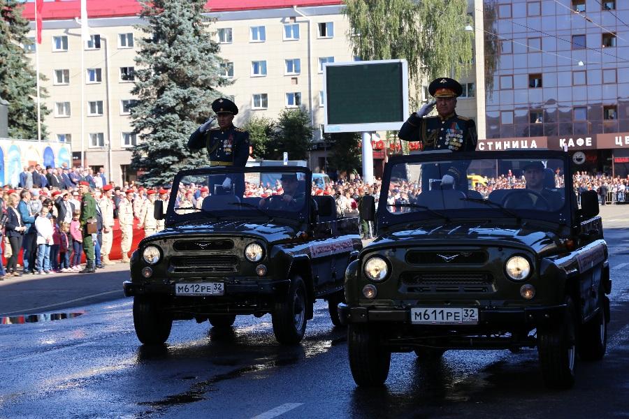 Брянская область отметила75-югодовщину освобождения Брянщины отнемецко-фашистскихзахватчиков
