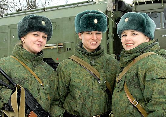 Женщины в армии: как служит прекрасный пол