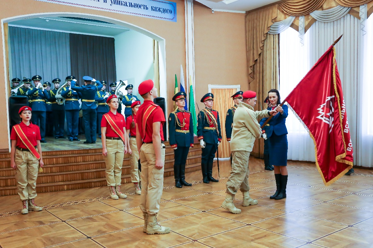 В Пензе состоялась церемония принятия в ряды юнармейского движения