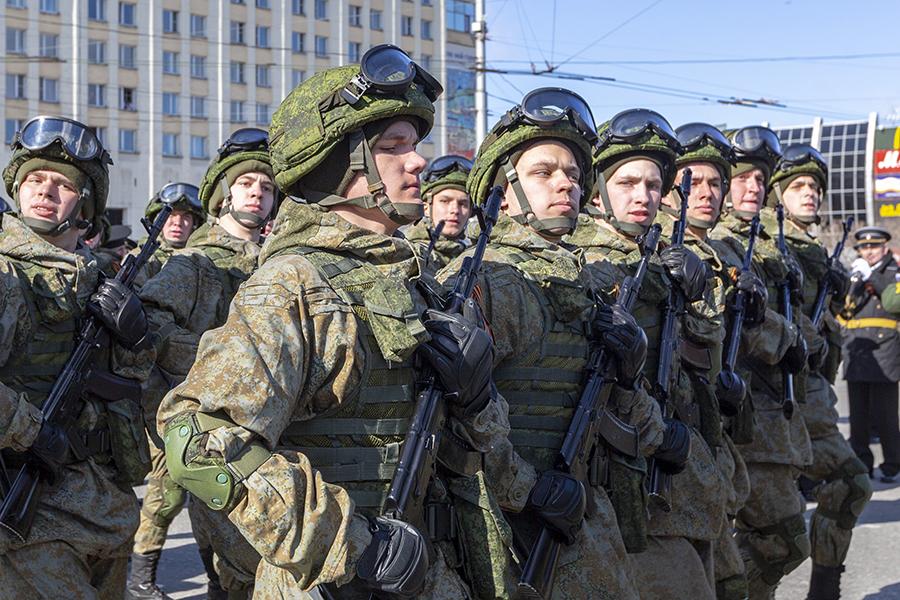 Воины-североморцы приняли участие в торжественных мероприятиях, посвящённых Дню Великой Победы в городе-герое Мурманске