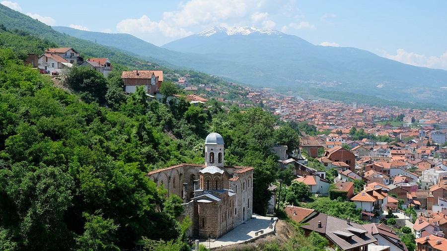 Косово – балканский узел на карте Европы