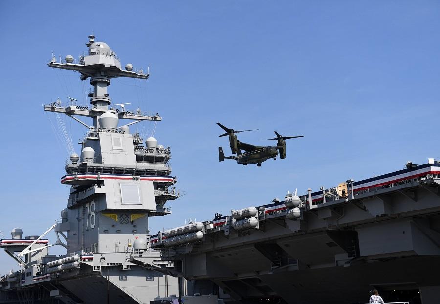 Самый дорогой военный корабль Америки не готов к выходу в море