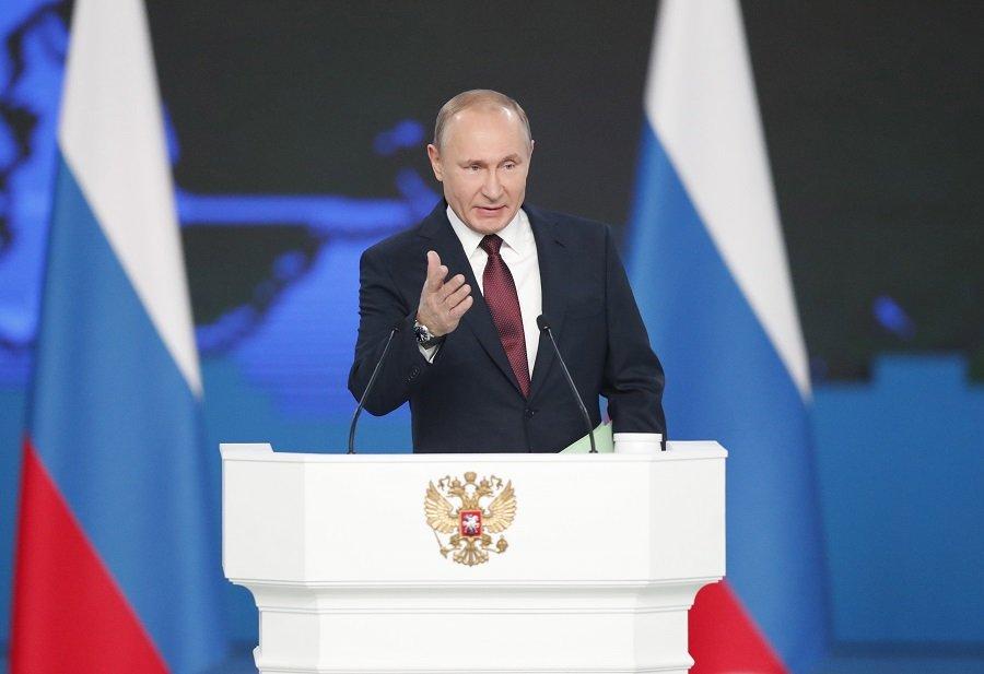 Владимир Путин констатировал начало гонки вооружений