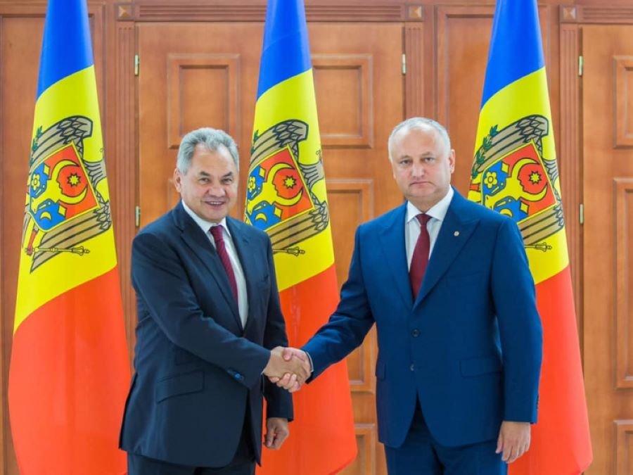 Итоги визита Сергея Шойгу в Молдавию: от утилизации боеприпасов до стратегического партнерства