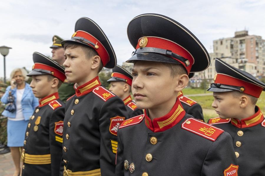 14 сентября в Нижнем Новгороде отпраздновали 75-летний юбилей Московского (Горьковского) суворовского военного училища.
