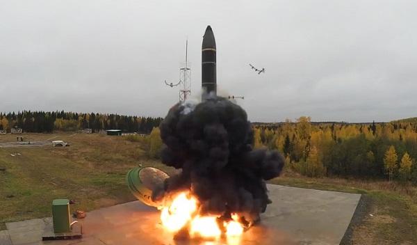 Российский «Тополь-М» поразил цель