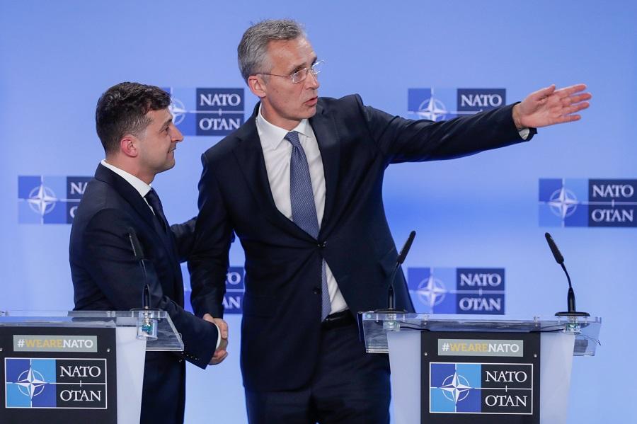 Украина намерена вступить в НАТО через пять лет
