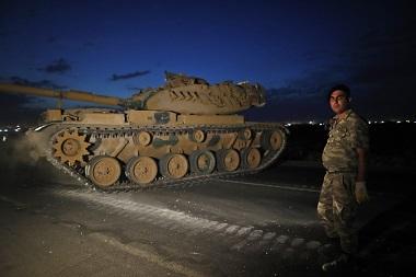 Эрдоган объявил о начале операции в Сирии