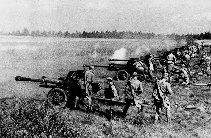 Противотанкистам Великой Отечественной – спасибо за подбитые танки!