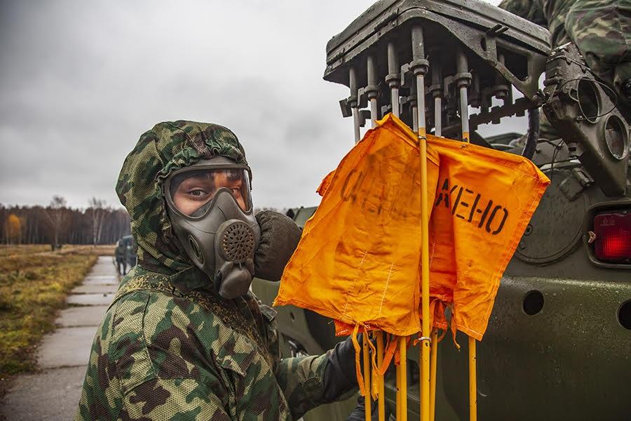 Войска РХБ защиты отмечают профессиональный праздник