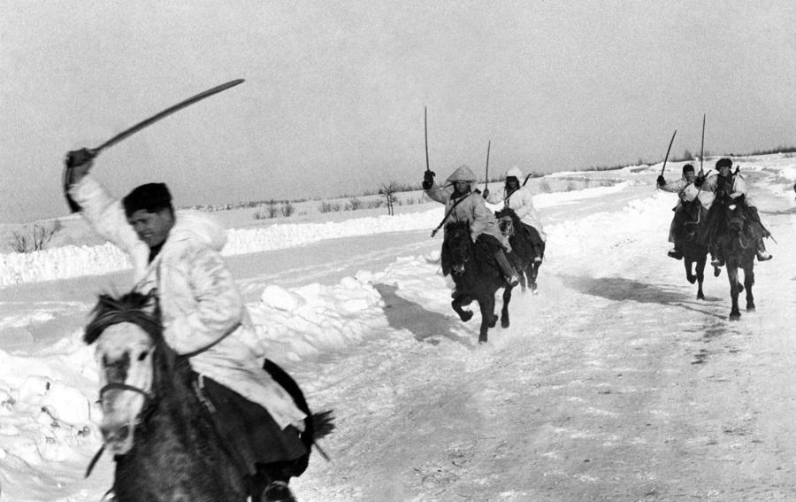 Кавкорпус генерала Белова в битве под Москвой
