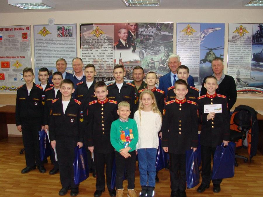 Представители общественной организации «Московские суворовцы» посетили Московское суворовское военное училище