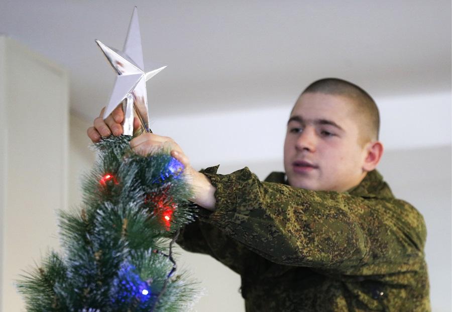 Новый год почти 11 тысяч военнослужащих ЦВО встретят на боевом посту