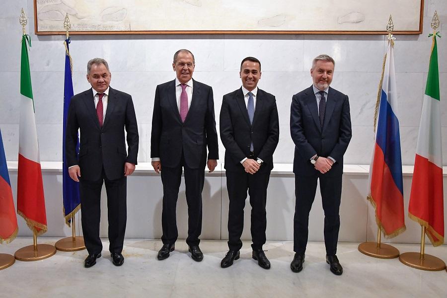 Москва и Рим обсудили ситуацию в Ливии