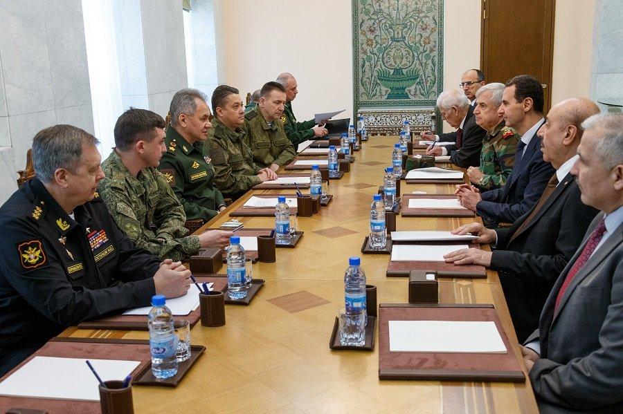 По поручению президента: Сергей Шойгу обсудил с Башаром Асадом повестку дня в Сирии