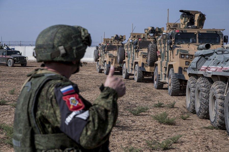 Российские военные провели патрулирование в самой отдаленной сирийской провинции