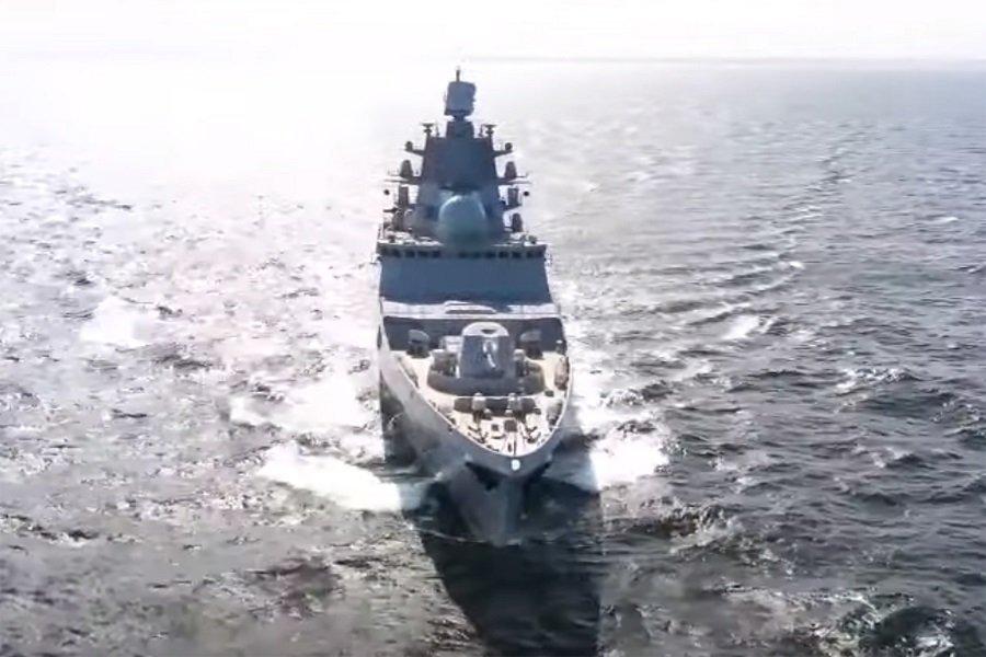 Фрегат «Адмирал Касатонов» после успешных испытаний совершает переход в балтийские воды