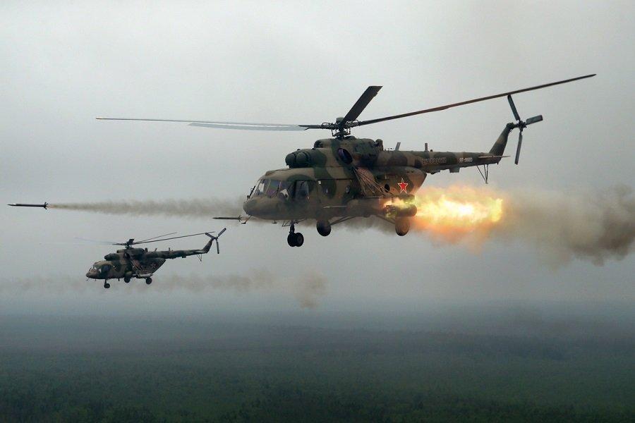 Армейская авиация Ленинградской области уничтожила командный пункт условного противника